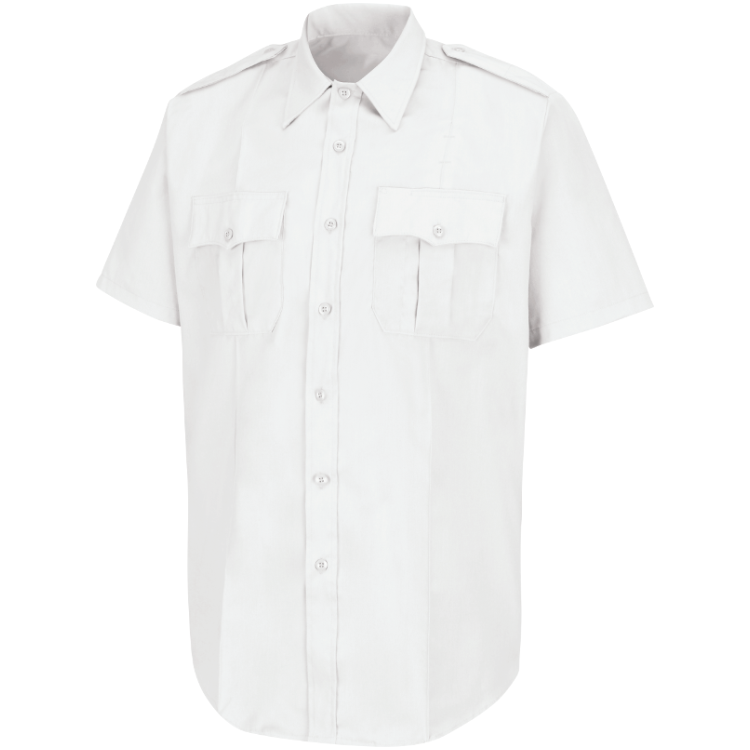 NO EMBROIDERY | Class B S/S Poly/Rayon Shirt
